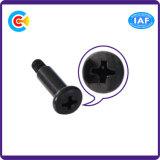 DIN/ANSI/BS/JIS Kohlenstoffstahl/aus rostfreiem Stahl runde flache nichtstandardisierte Jobstepp-Hauptschulter kundenspezifische Schrauben