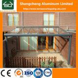 altura Terrasoverkappingen de los 3.5m con el marco de aluminio durable
