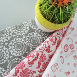 織物がシーツのためのポリエステルによってそして綿織物は家へ帰る