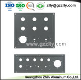 Los materiales de construcción perfil de aluminio Shell Panel para el dispositivo de sonido