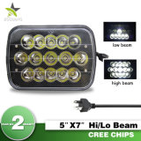 Jeep Cherokee Xj Yj를 위한 DRL를 가진 가장 밝은 5X7 7X6 Dual Beam Sealed Beam Projector Truck LED Headlights