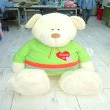 Cp65 de Standaard Mooie Teddybeer van de Pluche met Rode T-shirt