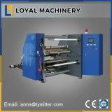 Papel de alta qualidade e de enrolamento de alta velocidade máquina de corte longitudinal