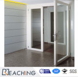 Высокое качество записи UPVC двойные стекла дверная рама перемещена для замены двери PD027