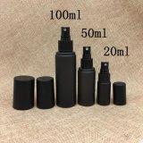 piccola bottiglia di plastica nera vuota del contagoccia del Matt del cilindro 20ml