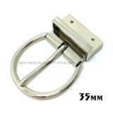 Alliage de zinc métal de haute qualité réversible broche boucle la boucle de ceinture pour les courroies de chaussures du vêtement Robe de sacs à main (XWS-ZD206--ZD239)