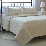 Conjunto modificado para requisitos particulares lecho de tres pedazos con el algodón 100% de la materia textil casera