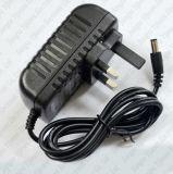 de Britse Adapter AC 100-240V van de Stop aan 12V de Adapter van de Levering van de 2Agelijkstroom Macht