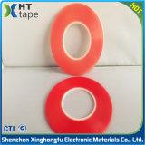 Red Film PET Transparence Ruban adhésif double face
