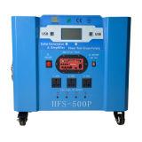 Portable solar azul do sistema de energia 500W com função perfeita da proteção