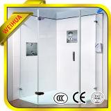 曇らされた緩和されたガラスのシャワーのドアを取り除きなさい