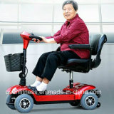 Las cuatro ruedas Lighti triciclo eléctrico plegable Scooter de movilidad con clave remoto