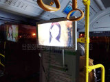 22 - Transporte de la ciudad de la pulgada que hace publicidad del panel del LCD de la visualización del vídeo que hace publicidad de la señalización de Digitaces