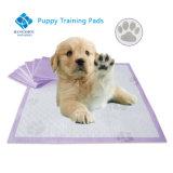 발 인쇄를 가진 처분할 수 있는 강아지 훈련 오줌 패드