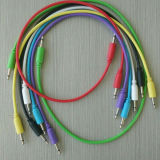 Os patch cables mono 3,5mm para Synthsizer Modular