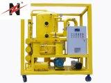Zhongneng 1 micras de filtración de aceite de transformador de la máquina