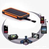 batería portable al aire libre móvil universal de la energía solar 10000mAh