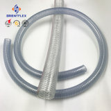 Спиральная лампа прозрачный ПВХ стальная проволока усиленные шланг