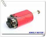 Carbon-Brush Motor para el secador de pelo, Motor de la cortina eléctrica de alto par motor DC de pequeños motores de CC