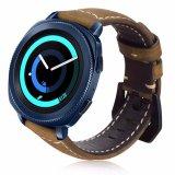 Samsungギヤスポーツのスマートな時計バンドのための贅沢な本革ストラップ