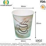 32 унции одноразовые холодной питьевой бумаги большого размера чашки холодный наружное кольцо подшипника