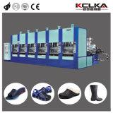 De Moldeo por inyección automática de espuma EVA en el zapato de la máquina con sistema servo