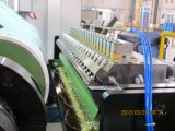 Heißer Schmelzbeschichtung-Kennsatz und Band-Zeile Maschine