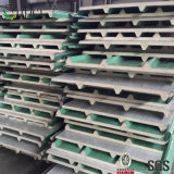 Het Type van Comités van de Sandwich van het Materiaal van het Comité van het Metaal van China van het Blad van het dak en van Pu