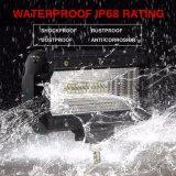 """IP68 2 mini barre d'éclairage LED de lumière endroit inondation rangée 8d 72W 5 """" pour le véhicule SUV 4X4 tous terrains"""