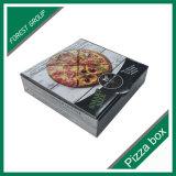 Caixa de embalagem personalizada do papel da pizza da impressão do logotipo