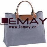 カスタム再使用可能な綿のトートバックかEco袋の綿のショッピング・バッグ