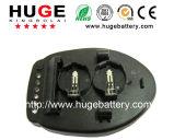 De cellader van de knoop voor lithium ionenbatterij LIR2032 LIR2025 LIR2016