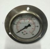 フランジすべてのステンレス鋼の圧力計のとの2.5inches接続