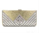 As mulheres elegantes moda jóias de luxo Material Reforçado Saco da embreagem de Envelope