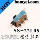 高品質3pinのすくいのスライドスイッチかトグルスイッチ(SS-22L05)