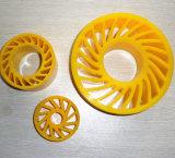 Aplastar la rueda de cartón corrugado