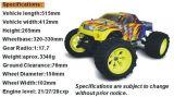 Hot Sale 1: 8 Nitro Gas RC Car com Motor Dupla