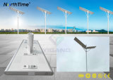 réverbère de 6W-120W DEL/lampe solaires Integrated avec le détecteur de nuit de jour