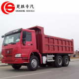 HOWO 상표 6X4 30tons 팁 주는 사람 트럭 덤프 트럭