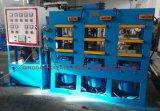 Multi-liaison Simens la vulcanisation du caoutchouc de la machine avec système de contrôle de l'automate (CE/ISO9001)