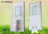 Sistema de inducción del regulador del APP del teléfono para la luz de calle solar del LED