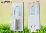 Telefon APP-Controller-Induktions-System für LED-Solarstraßenlaterne
