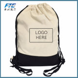 Cordón de algodón Bolsa de lona personalizados Bolsos