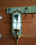 Hôtel de verre et métal miroir Wall Lamp (WHW-295Z)