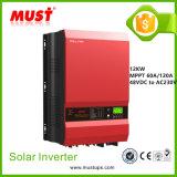 Courant de charge doit 100ampli de basse fréquence de l'onduleur solaire 12kw