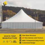 كبيرة زجاجيّة [بغدا] خيمة مع سقف قمة تهوية ([ه288ج])