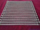 De Transportband van de Ketting van het roestvrij staal Voor Ovens