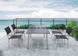Armrest를 가진 등나무 정원 Chairs Outdoor Dining Chairs