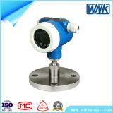 Transmissor de pressão de alta temperatura esperto do diafragma com LCD esperto