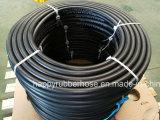 300 psi de presión de trabajo trenzado textil de la manguera de suministro de agua de goma